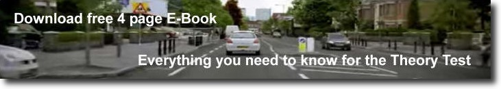 download free ebook for your theory test from Mikes Driving Lessons